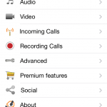 Zoiper iOS - 7 de 12